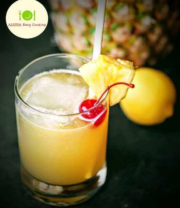 Ananas whisky sour